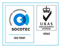 SOCOTEC ISO 9001 | UKAS MANAGEMENT SYSTEMS 0063